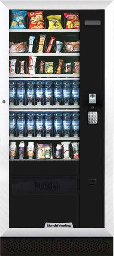 Maquinas de vending comida saludable