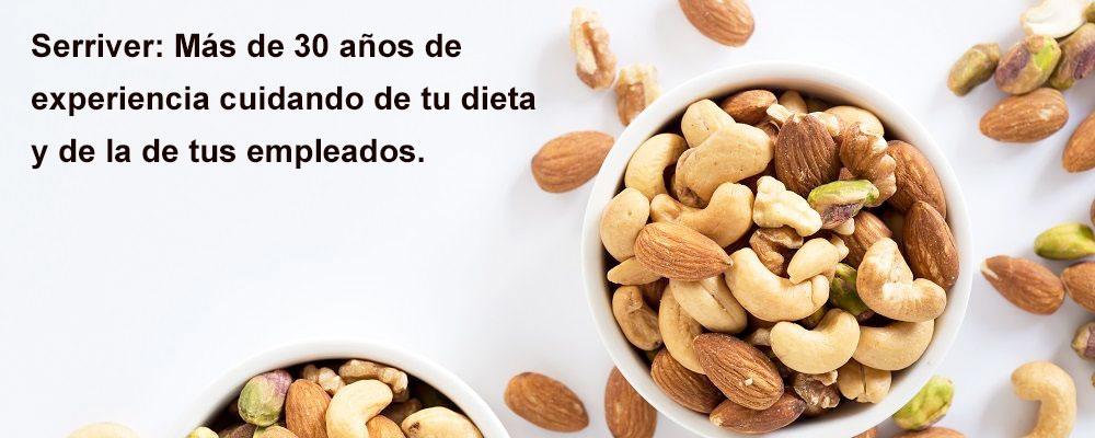 frutos secos para vending saludable madrid